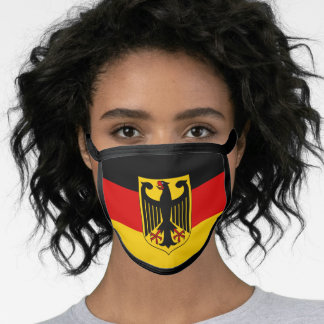 Germany & German Flag Mask - fashion/sports fans