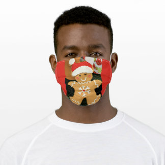 Ginger bread adult cloth face mask