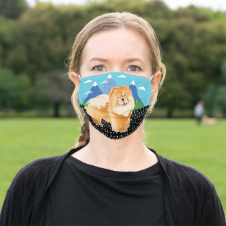 GINGKO red chow - face mask
