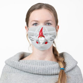 Gnome Winter Adult Cloth Face Mask