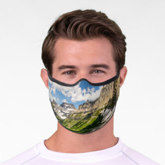 Going-to-the-Sun Road Premium Face Mask