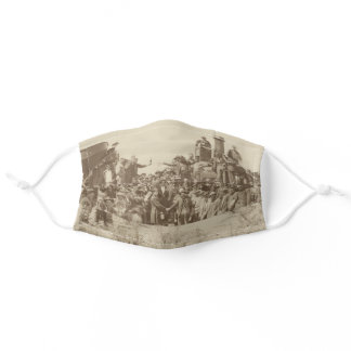 Golden Spike Transcontinental Railroad Sesquincent Adult Cloth Face Mask
