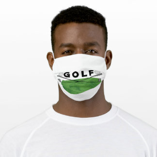 Golf Clubs Adult Cloth Face Mask