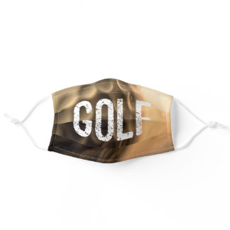 Golf Is A Way Of Life Cute Golfer Golf Lover Adult Cloth Face Mask