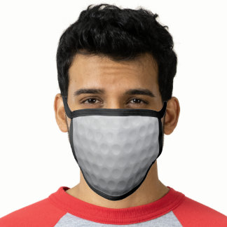 Golf Player Coach Sports Fan Golf Country Club Face Mask