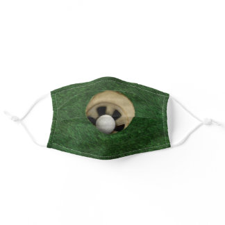Golf Themed Adult Cloth Face Mask