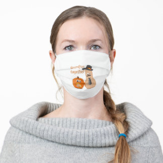 Gourdjus Together Adult Cloth Face Mask
