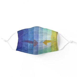 Gradient with Arrow, Paul Klee Adult Cloth Face Mask