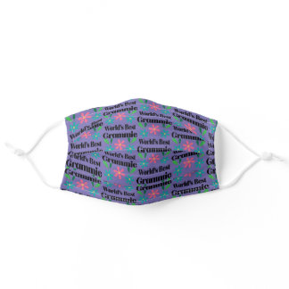 Grammie Gift for Grandmother Mothers Day Adult Cloth Face Mask