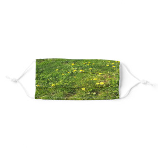 Grass and Dandelions Cloth Face Mask