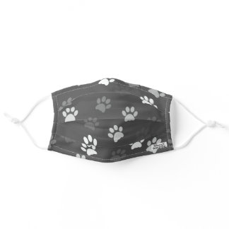 GRAY DOG PAW FACE MASK CAT FACE MASK FOR HIM HER