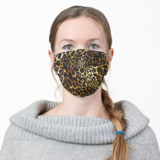 Great Animal Tiger Print Adult Cloth Face Mask