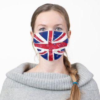 "Great Britain United Kingdom ""UK"" Adult Cloth Face Mask"