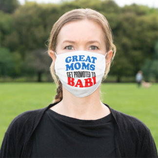 Great Moms Promoted To Babi Czech Grandma Adult Cloth Face Mask