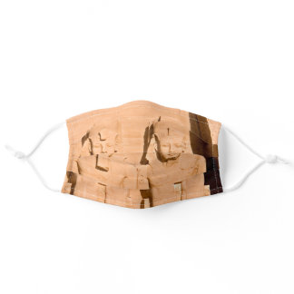 Great Temple of Abu Simbel - Ramses II - Egypt Adult Cloth Face Mask