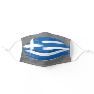 Greece Country Flag Adult Cloth Face Mask
