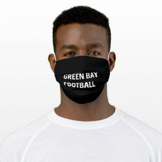 Green Bay Football Team Adult Cloth Face Mask