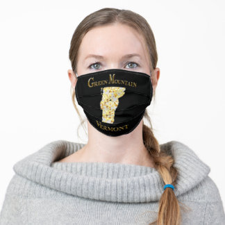 GREEN MOUNTAIN VERMONT ADULT CLOTH FACE MASK