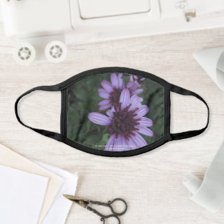 greyforaday Gorgeous Purple Floral Face Mask