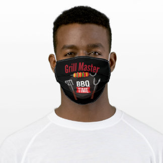 Grill Master Retro Vintage Adult Cloth Face Mask