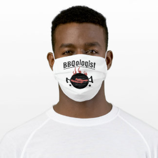 Grill Season Grill Master Roast Grilling Grilling Adult Cloth Face Mask