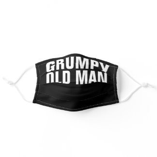 GRUMPY OLD MAN Dad Grandpa MASK