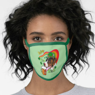GSP St. Patricks Day Face Mask