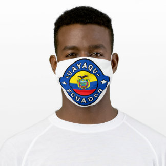 Guayaquil Ecuador Adult Cloth Face Mask