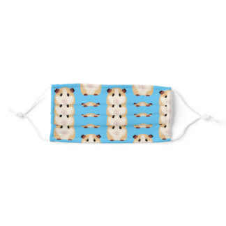 guinea pig  add  your name adult cloth face mask