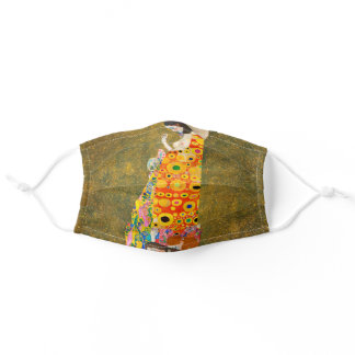 Gustav Klimt The Hope II, Die Hoffnung II Adult Cloth Face Mask