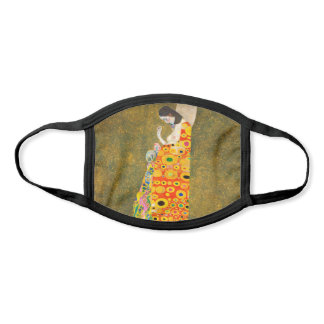 Gustav Klimt The Hope II, Die Hoffnung II Face Mask