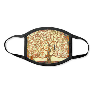 Gustav Klimt The Tree of Life Fine Art Face Mask