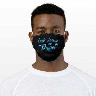 Gute Laune Papa Daddy father cool gift for dads Adult Cloth Face Mask
