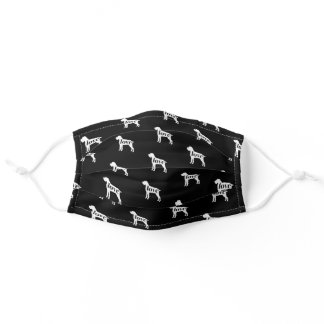 GWP - German Wirehaired Pointer Dog Face Mask