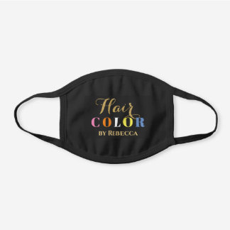Hair coloris mask template