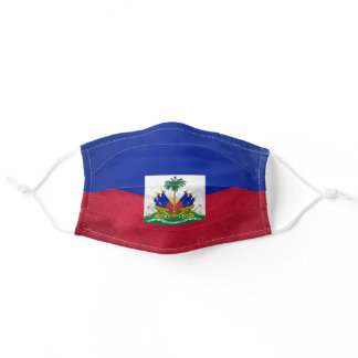 Haiti Adult Cloth Face Mask