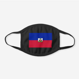 Haiti Flag Cotton Face Mask