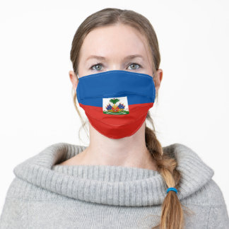 Haiti flag country flag symbol nation ethnic adult cloth face mask