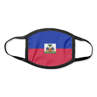 Haiti Flag Face Mask