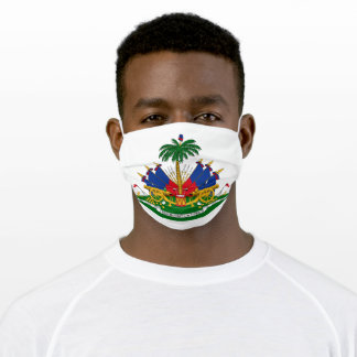 Haitian Coat of Arms Adult Cloth Face Mask