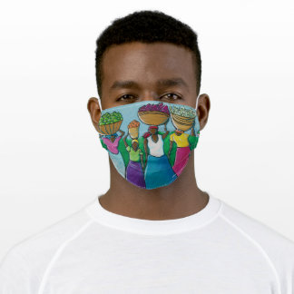 Haitian Market Adult Cloth Face Mask