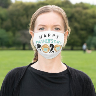 Happy Father's Day | Funny Face 2020 Mask Humor