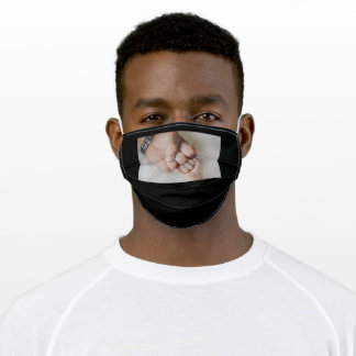 Happy Father's Day Son Fist Love Adult Cloth Face Mask
