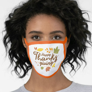 Happy Thanksgiving Mask