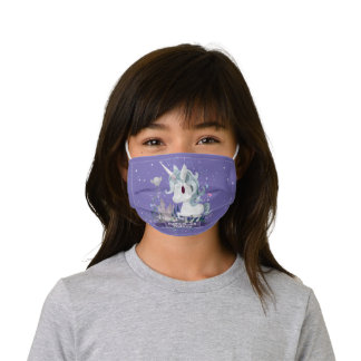 Harry Potter | Forbidden Forest Unicorn Graphic Kids' Cloth Face Mask