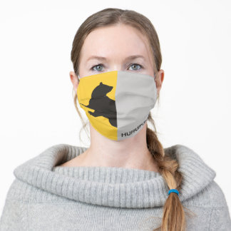 Harry Potter   Hufflepuff House Pride Graphic Adult Cloth Face Mask