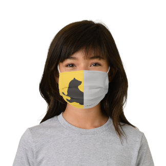 Harry Potter | Hufflepuff House Pride Graphic Kids' Cloth Face Mask