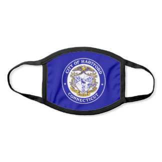 Hartford, Connecticut City Flag Face Mask