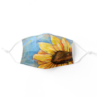 Have No Fear Sunflower Adult Cloth Face Mask
