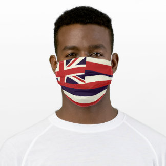 HAWAII Flag - Adult Cloth Face Mask